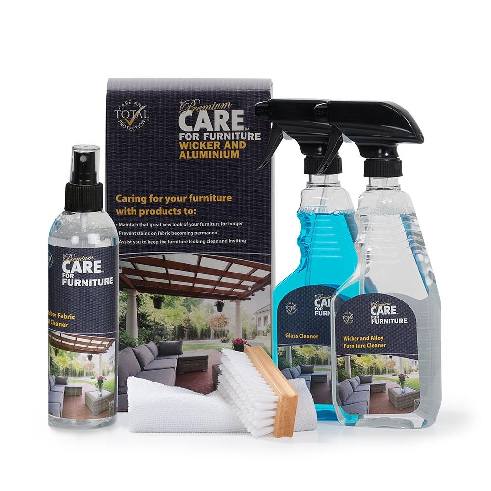 Care Kits Wicker & Aluminium Outdoor Care Kit