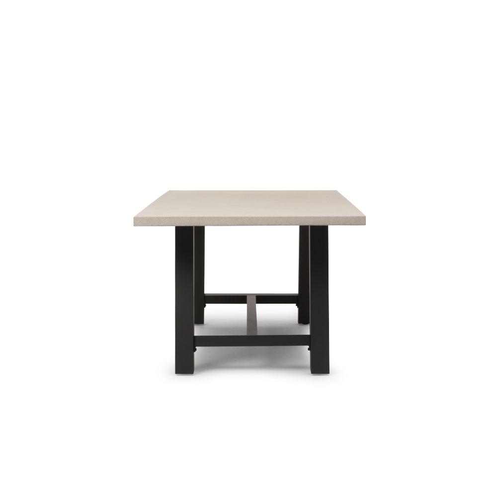Capri Outdoor Dining Table - W220, Gunmetal