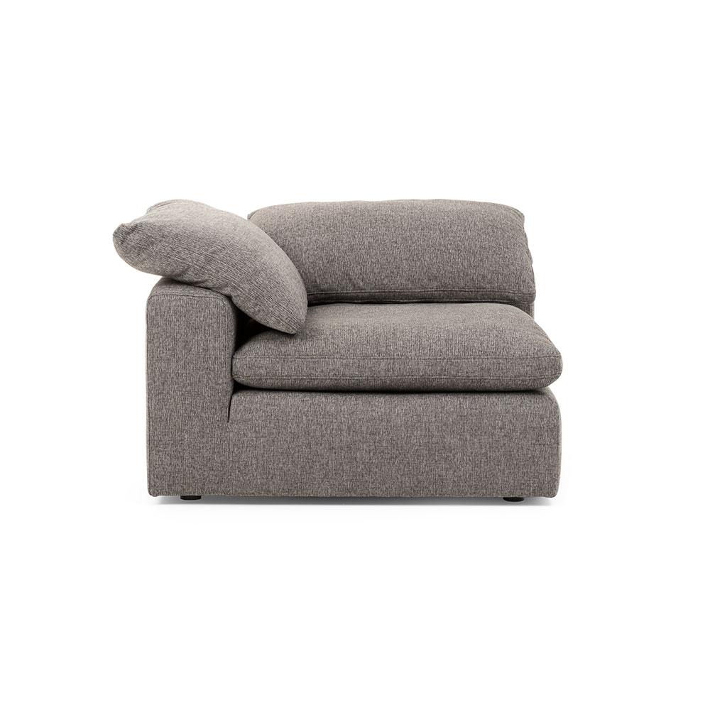 Malone Modular Corner Seat, Charcoal