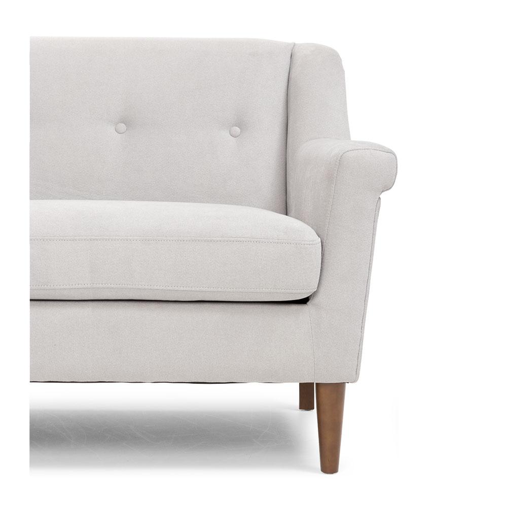 Clare 3 Seater Sofa, Mist Grey