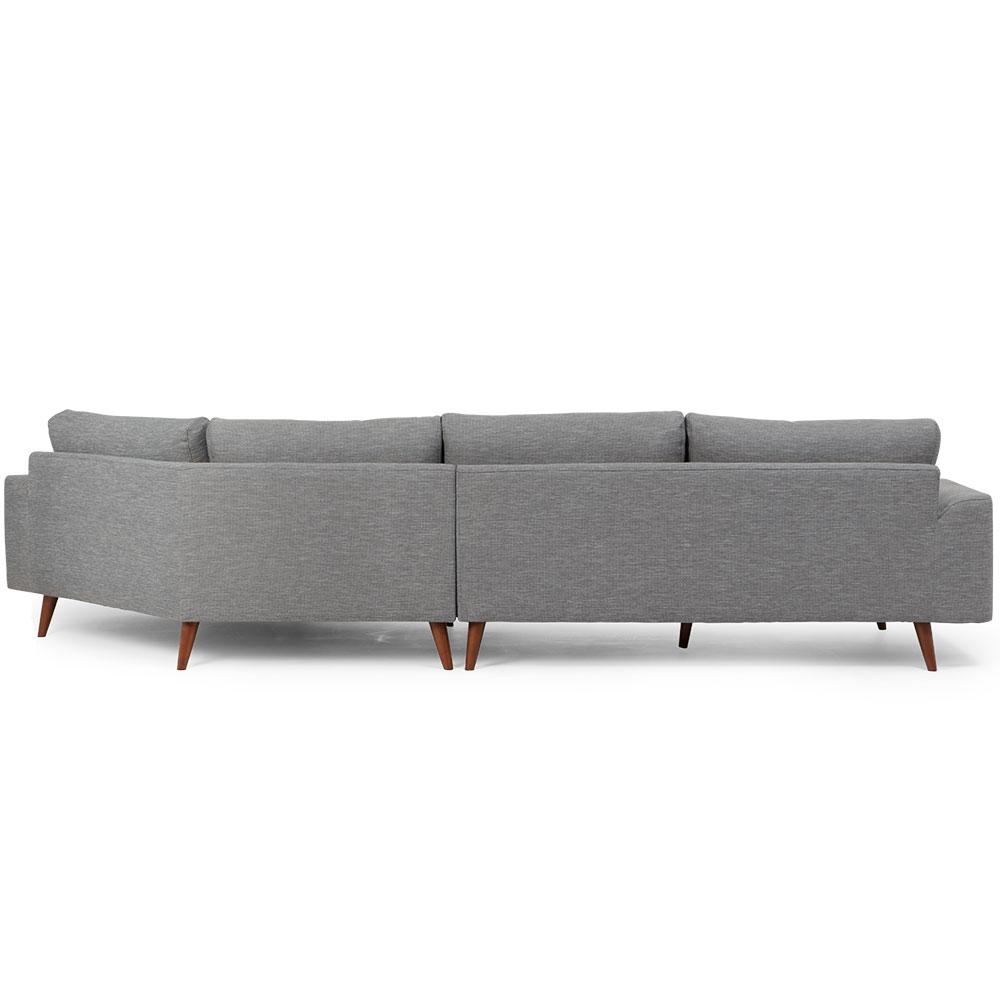 Charlie Angular Chaise Sofa, Midnight
