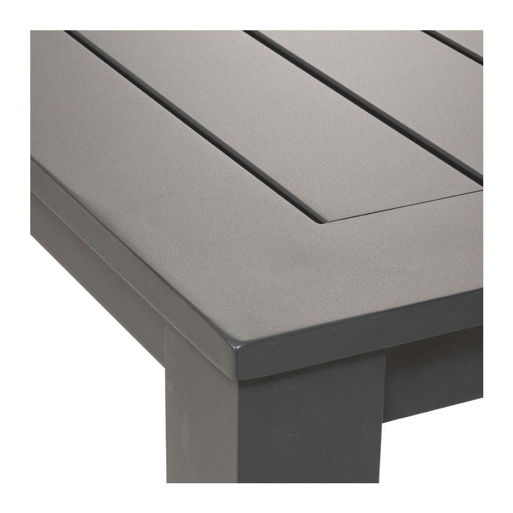 Venus Outdoor Bar Table - W140, Gunmetal