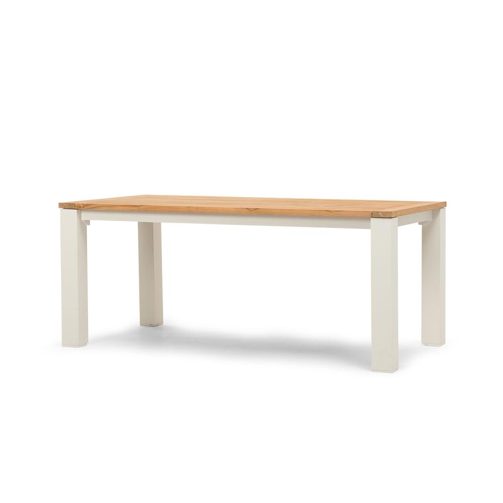 Ibiza Outdoor Dining Table - W180, White