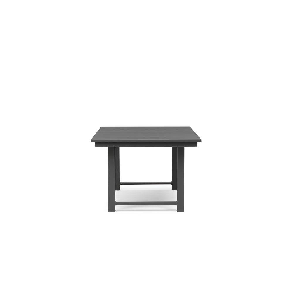 Venus Outdoor Low Dining Table - W159, Gunmetal