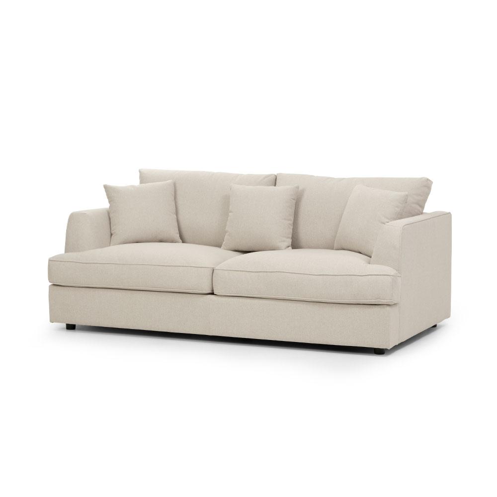 Lincoln 2.5 Seater Sofa, Stone