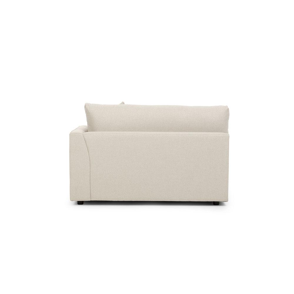 Lincoln Oversized 4 Seater Sofa, Stone