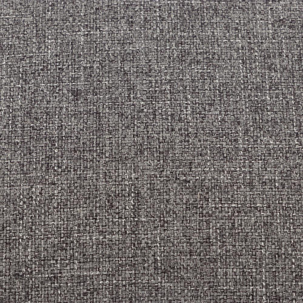 Lincoln Oversized Ottoman, Grey