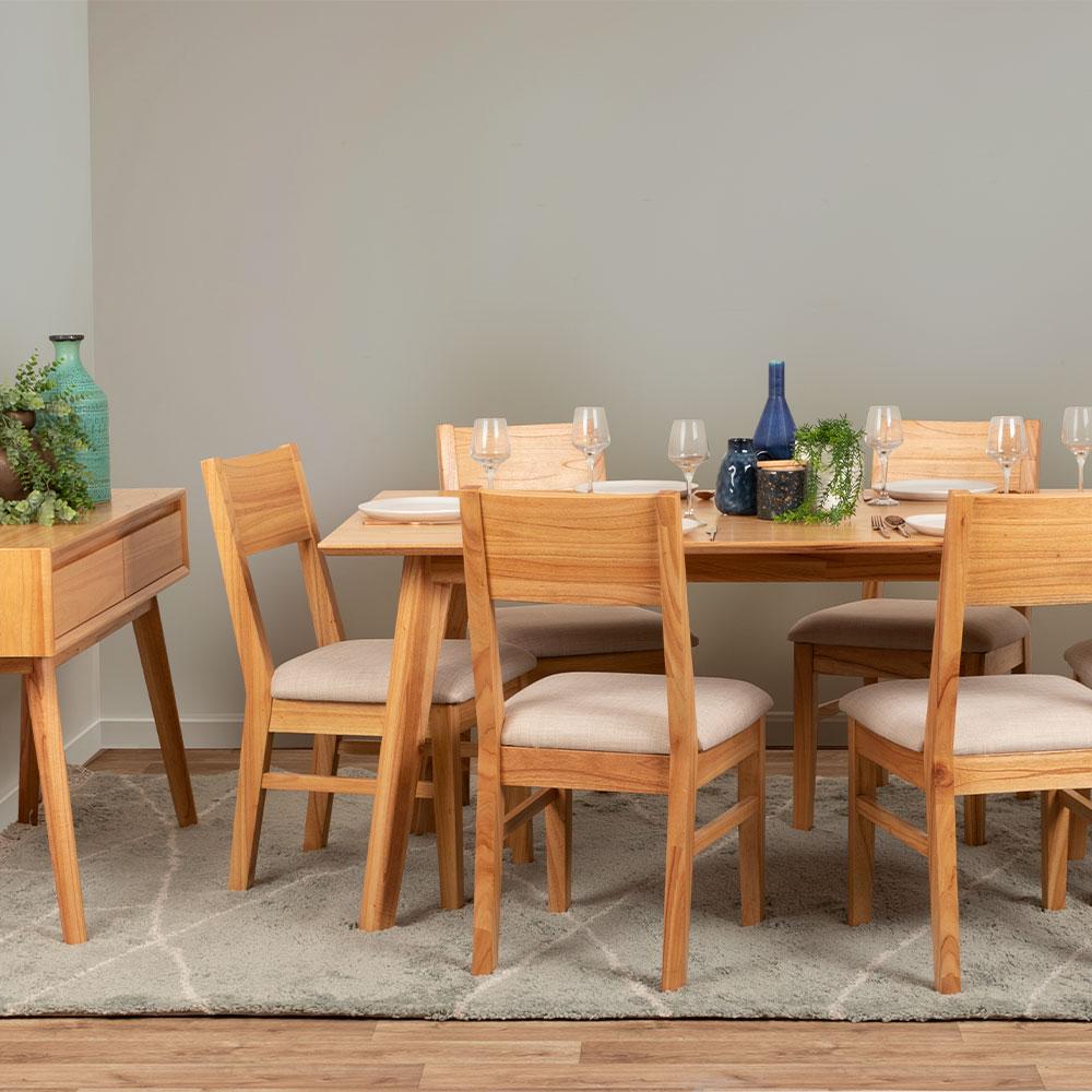 Larvik 7 Piece Dining Set - W160