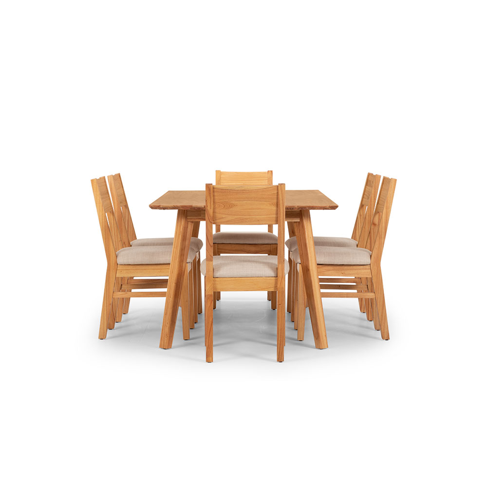 Larvik 7 Piece Dining Set -W180