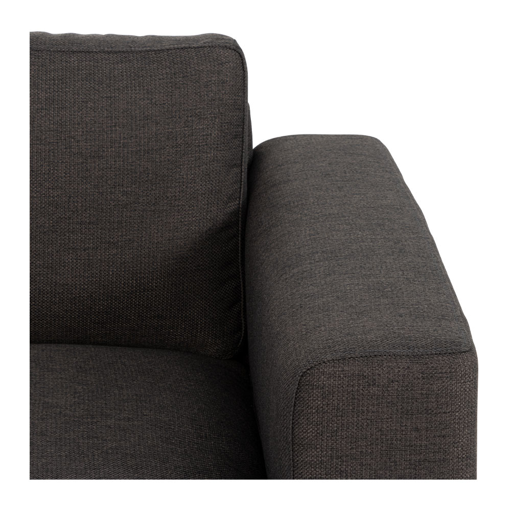 Lennox 2 Seater Sofa, Charcoal