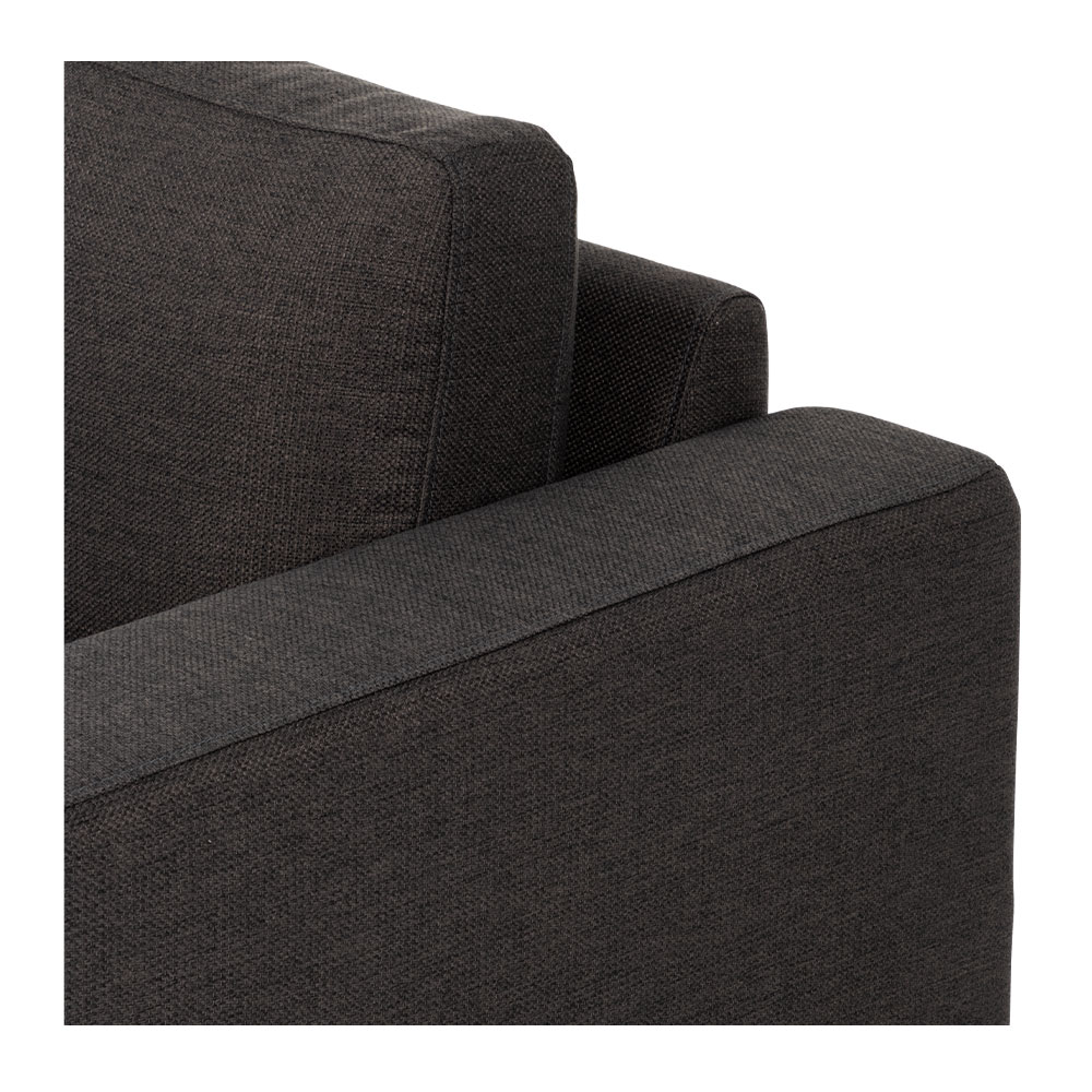 Lennox 3 Seater, Charcoal