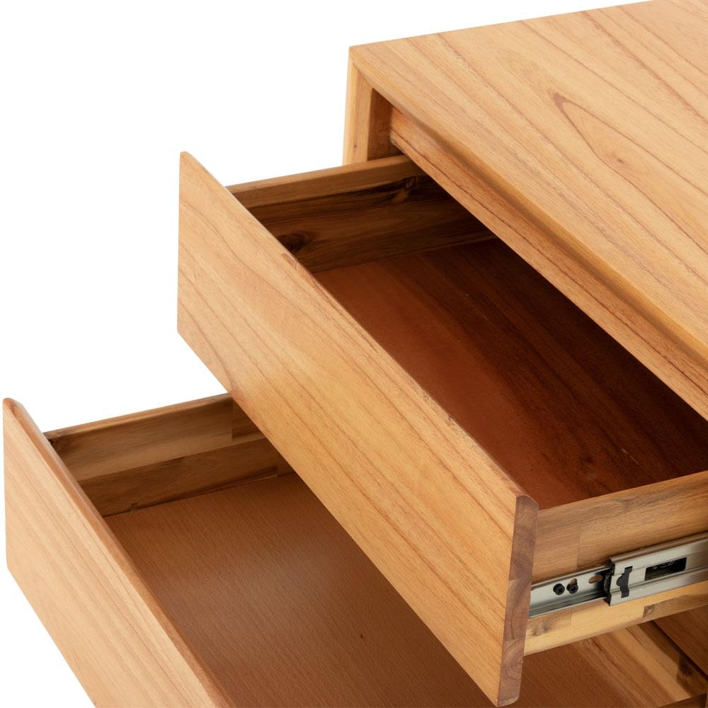 Larvik 2 Drawer Bedside